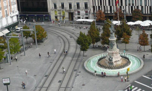 It is the center of zaragoza